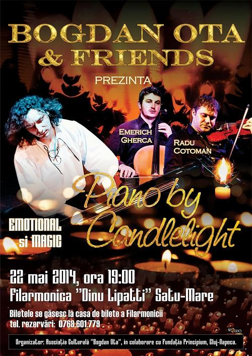 preview - piano by candlelight - satu-mare 22mai