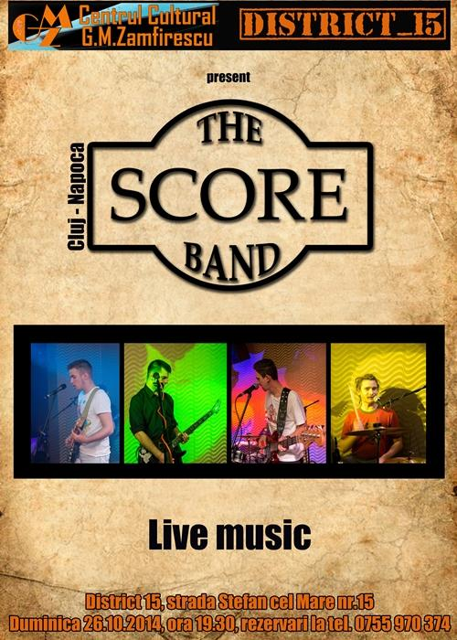 Concert The Score Band