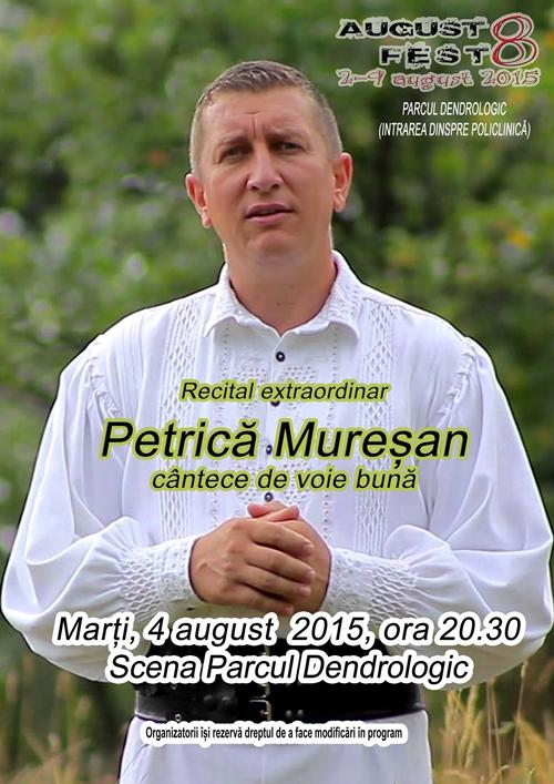 Petrica Muresan - recital press