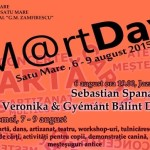 Programul oficial al SM@rt Days Satu Mare, 6–9 august 2015