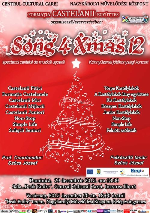 Afis Song 4 Xmass 12 press