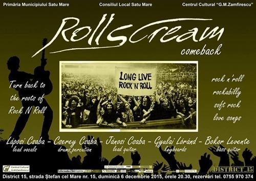 Rollscream 6 dec.