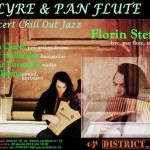 Concert de Chill Out Jazz, cu Florin Ștefan și invitații săi, la District 15