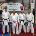 "CS Karate Do B.F.K.S. din Carei, a participat la stagiul internațional de pregătire ""Karate Arad"""