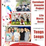 Concert susținut de Castelanii Acoustic Project și Life Music Band, duminică, 1 septembrie la Carei